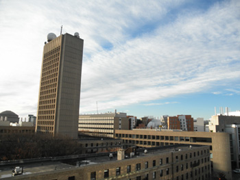 MITの一部を俯瞰したところ