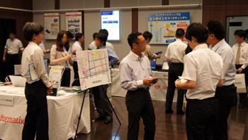 空間情報シンポジウム2012 名古屋会場 併設展示の様子