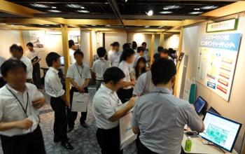 空間情報シンポジウム2012 大阪会場 併設展示の様子